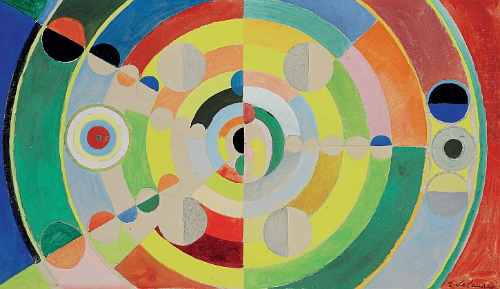 Robert Delaunay, Relief-disques, 1936