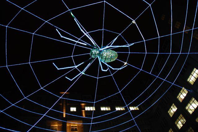 The Biennial's Web ofLight