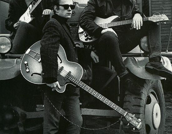 Stu Sutcliffe at the VictoriaGallery