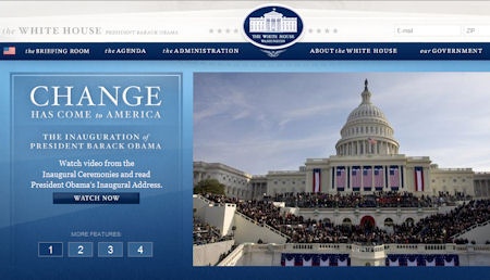 The White House website later today
