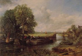 View on the Stour near Dedham, 1822