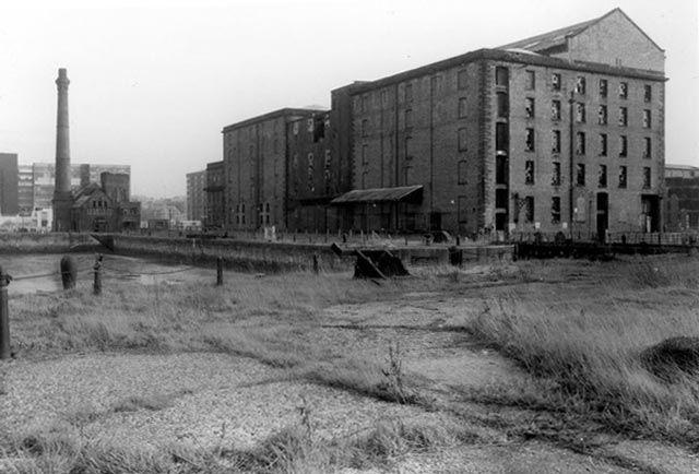 Albert Dock 1980s