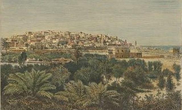 Jaffa, 19th century print