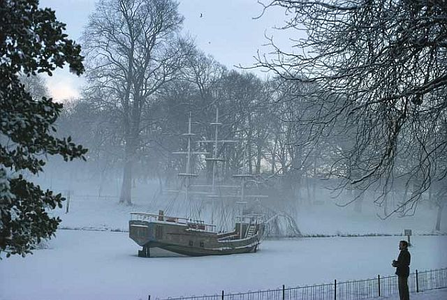 Pirate ship Sefton Park