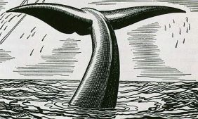 Herman Melville Moby Dick illustration by Rockwell Kent