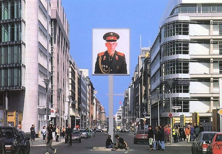 Friedrichstrasse, leading to Checkpoint Charlie
