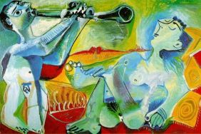 Picasso L'Aubade (The Serenade)