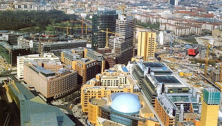 Potsdamer Platz 1999 postcard