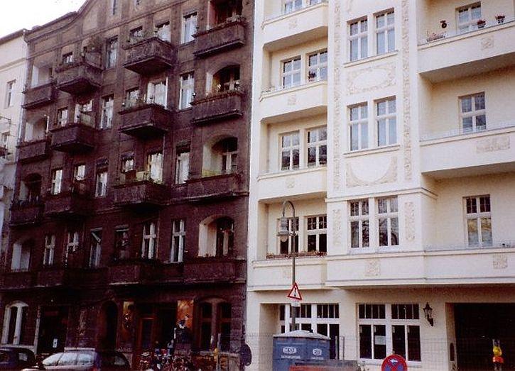 Prenzlauer Berg redevelopment