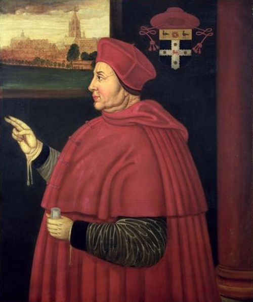 Cardinal Wolsey by Hans Holbein