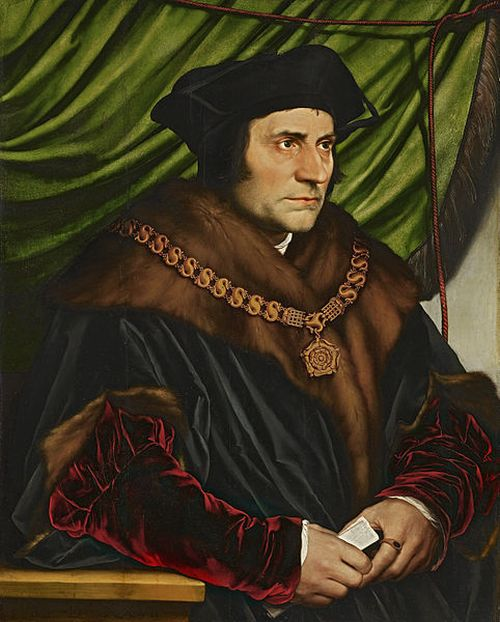Hans Holbein Portrait of Sir Thomas More