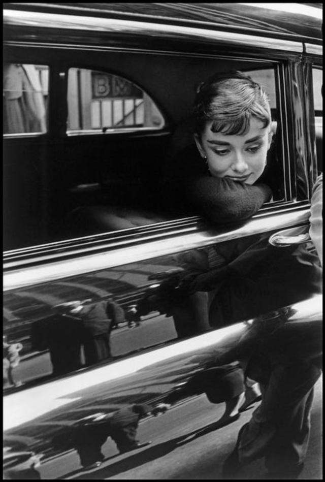 Audrey Hepburn by Dennis Stock