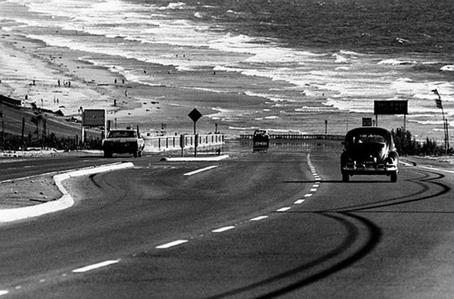 San Diego coastline, 1968. Dennis Stock