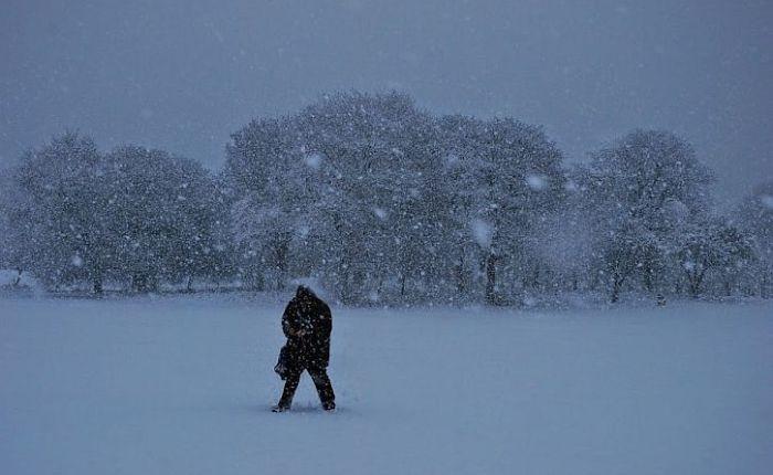 Snowstorm hitsLiverpool