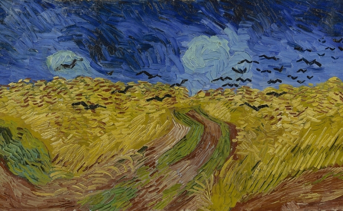 Turbulent Indigo: Van Gogh'sletters