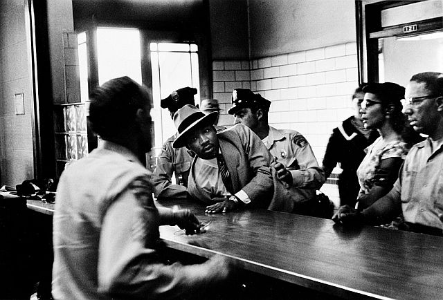 Martin Luther King Jr arrested in Montgomery, Alabama, 1958
