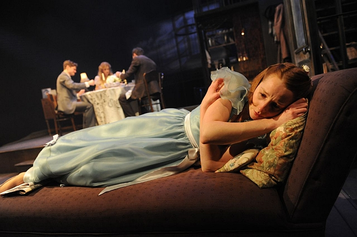 Emma Lowndes as Laura in The Glass Menagerie