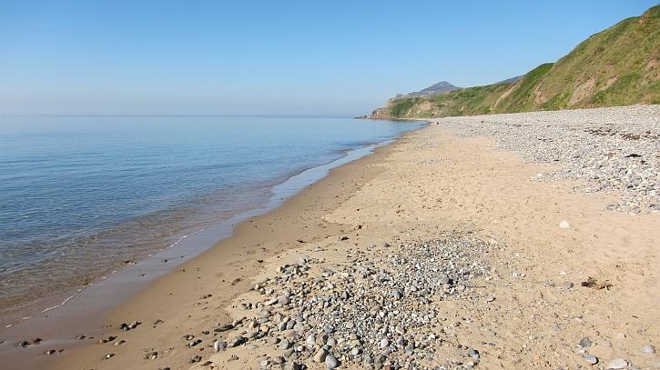 Pistyll beach
