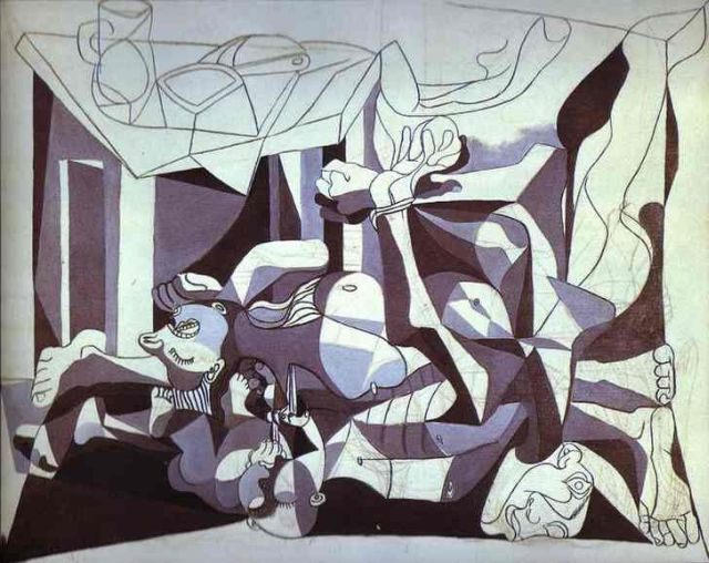 Pablo Picasso The Charnel House, 1944–1945