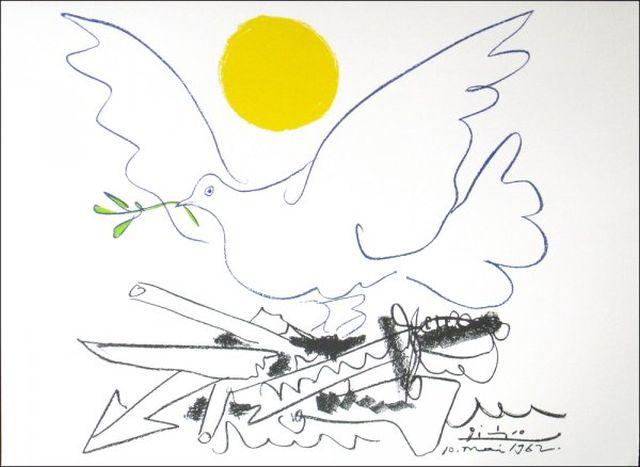 Picasso Colombe de l'avenir