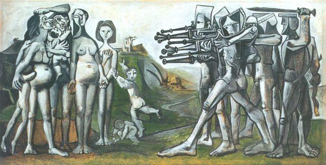 Picasso Massacre in Korea 1951