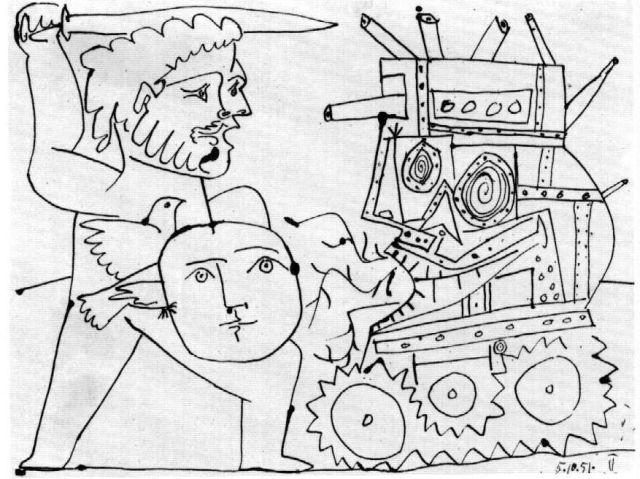 Picasso War 1951
