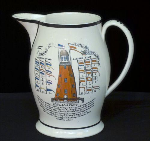 Portland Observatory Pitcher 1807