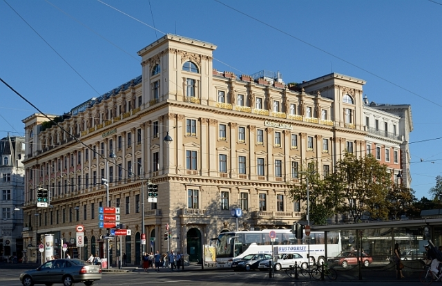 Palais Ephrussi on the Ringstrasse