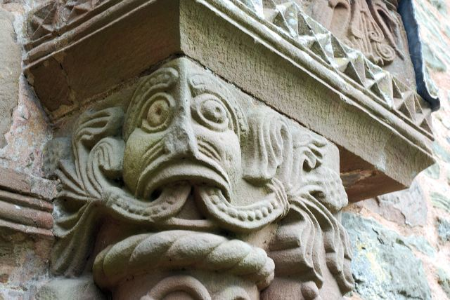 Kilpeck: Green Man