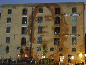 Lennon at 70 Albert Dock