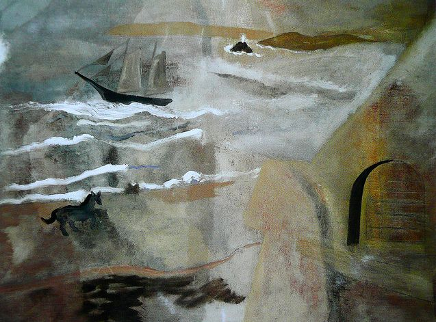 Ben Nicholson - Porthmeor Beach, St Ives 1928
