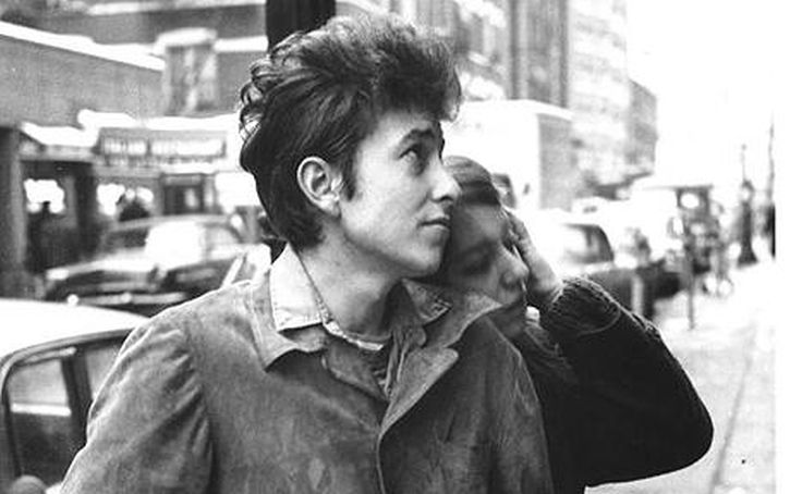 Bob Dylan with Suze Rotolo, September 1961, New York