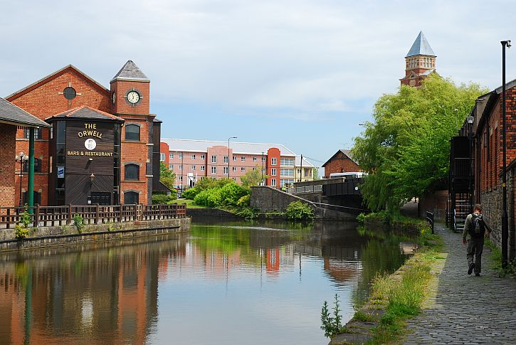 The Orwell at Wigan Pier