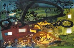 John Piper Garn Fawr near Strumble Head 1962