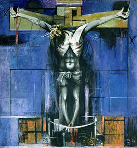 Graham Sutherland: The Crucifixion,1946 St Matthew's, Northampton