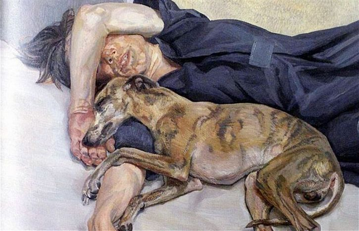 Lucian Freud: Double Portrait 1985-1986