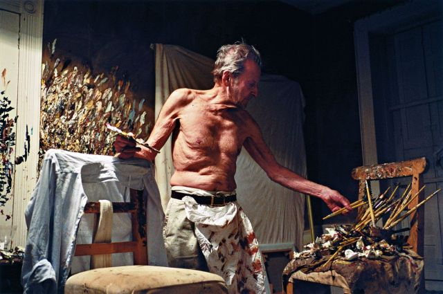Lucian Freud Working At Night