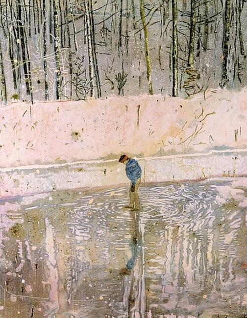 Peter Doig,, Blotter, 1993