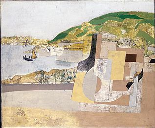 Ben Nicholson - November 11 1947 (Mousehole)
