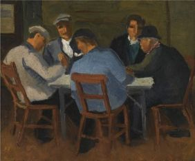 Christopher Wood The Card Players