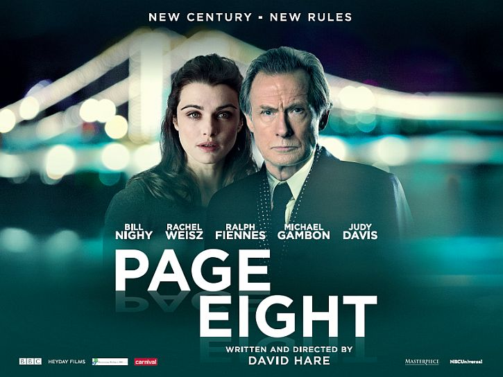 Page Eight David Hare poster