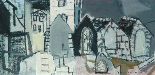 Patrick Heron - St Ives Churchyard 1950