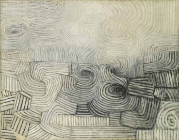Victor Pasmore - Snowstorm - Spiral Motif 1951