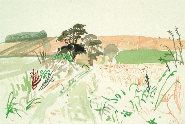 Hockney Midsummer East Yorkshire 2