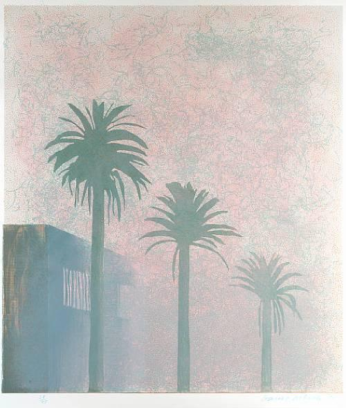 Hockney, Weather Series – Mist,1973