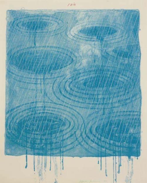 Hockney, Weather Series – Rain