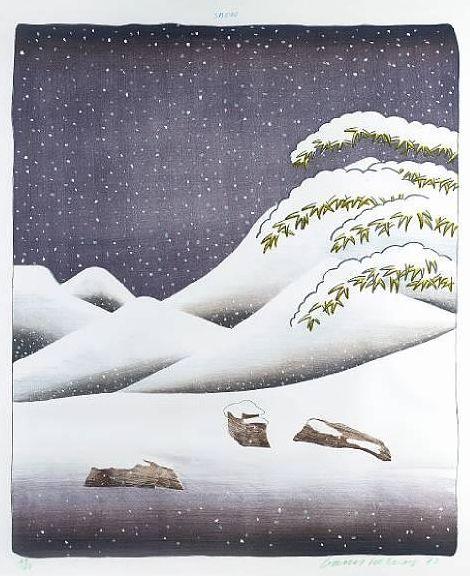 Hockney, Weather Series – Snow