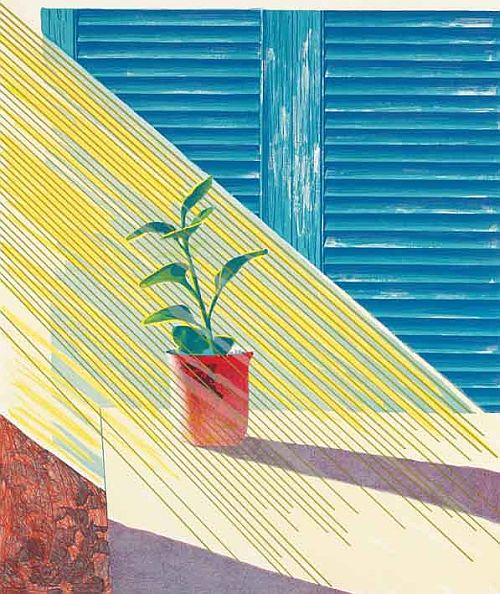 Hockney, Weather Series – Sun