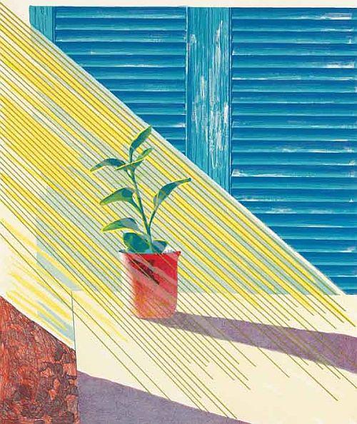 Hockney, Weather Series – Sun