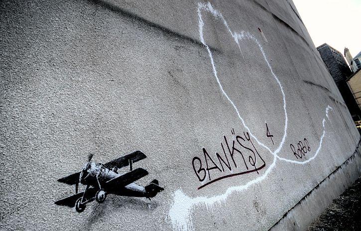 Banksy defaced